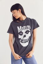 Urban Outfitters Misfits Ripped Neck Tee