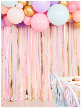 Ginger Ray Pastel Streamer and Balloon Party Backdrop