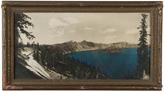 Rejuvenation Large Hand-Tinted Crater Lake Photo 1920
