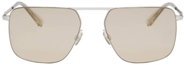 Mykita Silver Masao Sunglasses