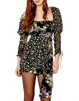 For Love & Lemons Eileen Mini Dress