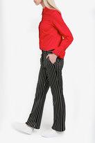 Paul & Joe Stripe Straight Trousers