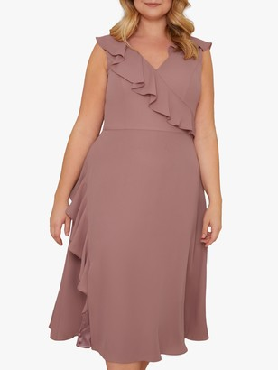 Chi Chi London Curve Kai Dress, Mink