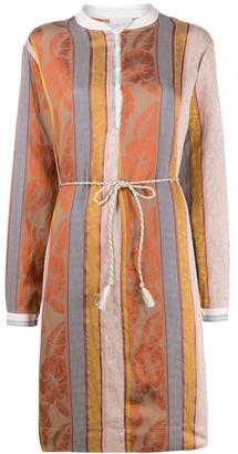 Forte Forte Patchwork Long Sleeve Dress