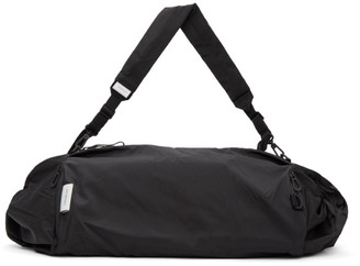 Côte and Ciel Black Obed Smooth Duffle Bag