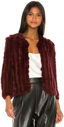 Heartloom Rosa Fur Jacket