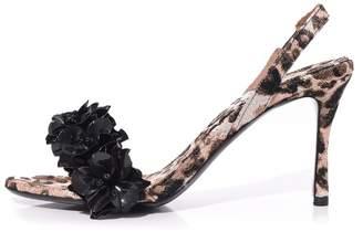 Tabitha Simmons Follie Slingback in Leopard Jacquard