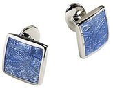 David Donahue Paisley Sterling Silver Cuff Links