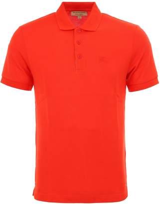 Burberry Check Placket Polo Shirt