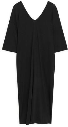 Arket Twist-Detail Kaftan Dress