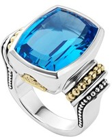 Lagos Women's 'Caviar Color' Large Semiprecious Stone Ring