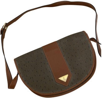 Saint Laurent Brown Cloth Handbags