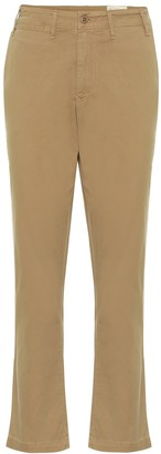 Citizens of Humanity Brooke mid-rise straight stretch-cotton chinos