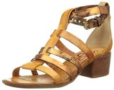 Air Step Women's Loto Ankle Strap Sandals Brown Size: