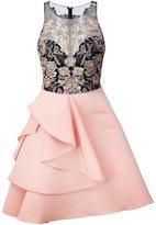 Marchesa embellished top dress
