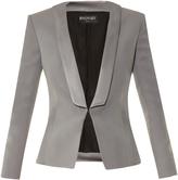 Balmain Single-breasted satin jacket