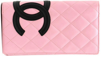 Chanel Cambon Black Leather Wallets