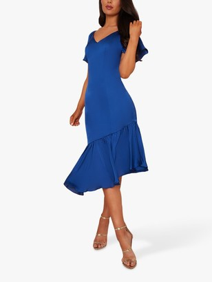 Chi Chi London Shayne Dress, Cobalt