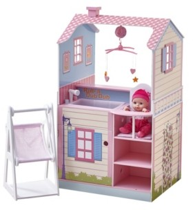 Olivia's Little World Olivia's Classic Doll Changing Station Dollhouse