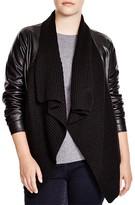 BB Dakota Plus Alston Faux Leather Jacket