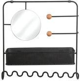 Umbra Estique Jewellery & Accessories Organiser Colour: Black