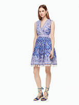 Kate Spade Trellis ara dress