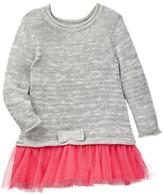 Joe Fresh Tulle Skirted Dress (Baby Girls 3-12M)