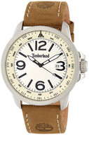 Timberland Men&s Caswell Leather Watch