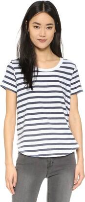 Splendid Women's Sunfaded Stripe Jersey Tee