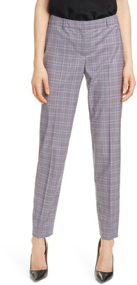 HUGO BOSS Tiluni Stretch Wool Suit Trousers