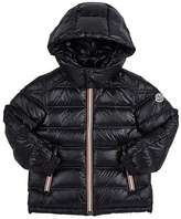 Moncler Gaston Channel-Quilted Coat