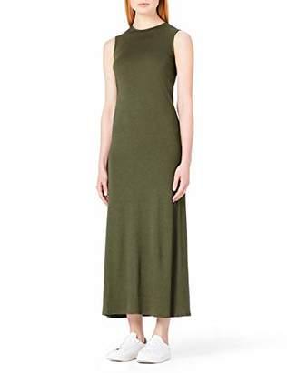 MERAKI Women's Summer T-Shirt Maxi Dress,8 (Size: X-Small)