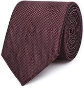 Reiss Ida Silk Houndstooth Tie