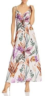 Atelier 1756 Varadero Cotton Floral Print Dress