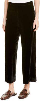 Rebecca Taylor Velvet Silk-Blend Pant