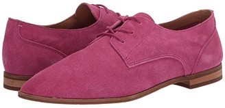 Frye Piper Oxford (Magenta Suede) Women's Shoes