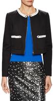 Love Moschino Embellished Trim Jacket