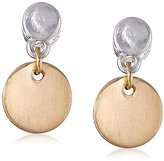 "Kenneth Cole New York Delicates"" Circle Drop Earrings"