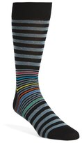 Bugatchi 'Donegal' Stripe Socks