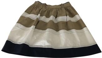 Philosophy di Alberta Ferretti Beige Cotton Skirt for Women