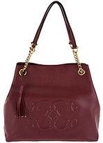 "C. Wonder As Is Pebble Leather Satchel Handbag with ""C"" Detail"