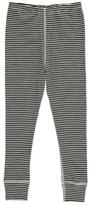 Nui Stripe Ribbed Organic Merino Wool Leggings