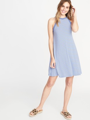 Old Navy High-Neck Jersey Swing Dress for Women