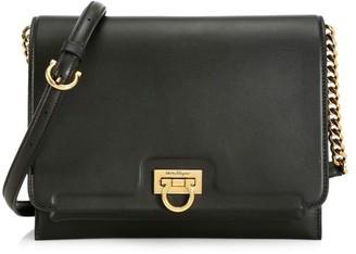 Salvatore Ferragamo Medium Gancini Leather Crossbody Bag
