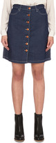 Closed Leah stretch-denim skirt