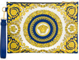 Versace Medusa Head Leather Pouch