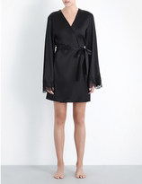 I.D. Sarrieri Mini stretch-silk robe