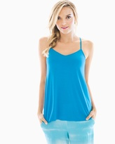 Soma Intimates Racerback Pajama Cami Blue Sea
