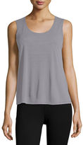 Eileen Fisher Stretch Silk Jersey Tank, Petite