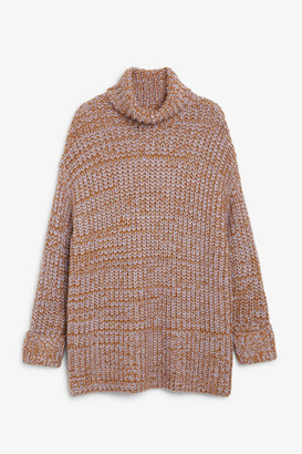Monki Chunky knit top